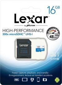 Lexar-300x-16GB-MicroSDHC-Class-10-Memory-Card-(With-Adapter)