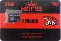 King Ulatra 8 GB SD Card Class 6 90 MB/s  Memory Card