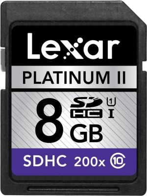 Lexar 8 GB SDHC Class 10  Memory Card