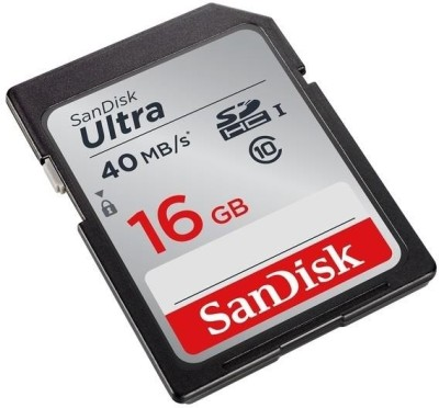 Sandisk Ultra 16GB 40MB/s Class 10 SDHC SD Memory Card