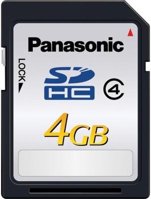 Buy Panasonic SDHC 4 GB Class 4: Memory Card