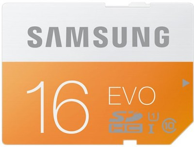 Samsung Evo 16 GB SDHC Class 10 48 MB/S  Memory Card