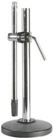 Krown Medium Quality Table Heavy Round Base - Small Microphone Stand