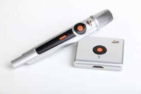 Persang Dzire Karaoke Player with one wirelss Mic (KARAOKE HUB) Microphone