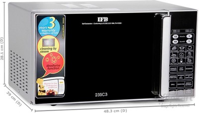 IFB 23SC3 23 L Convection Microwave Oven (Silver)