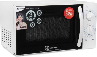 Electrolux S20M.WW-CG 20 L Solo Microwave Oven (White)