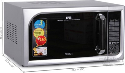 IFB 38SRC1 38 L Convection Microwave Oven (Silver)