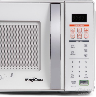 Whirlpool MAGICOOK 20L CLASSIC (NEW) 20 L Solo Microwave Oven (white)