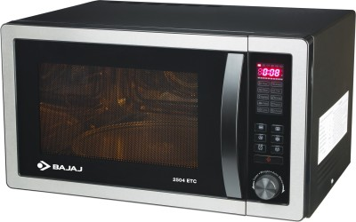 Bajaj 2504ETC 25 L Convection Microwave Oven (Silver Grey)