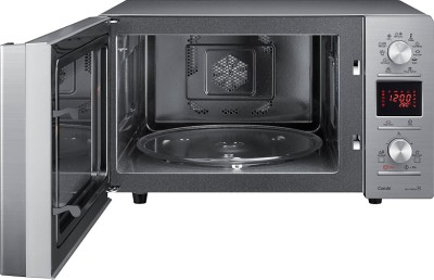 Samsung CE118PF-P1/XTL 32 L Convection Microwave Oven (Black Pattern)