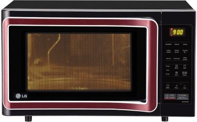 LG MC2844SPB 28 L Convection Microwave Oven (Black)