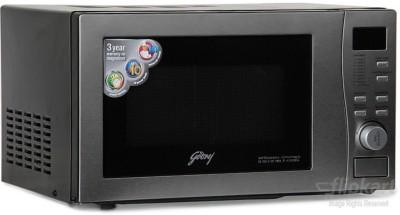 Godrej GMX 20CA6PLZ 20 L Convection Microwave Oven (Silver)