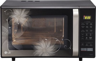 LG MC2844EB 28 L Convection Microwave Oven (Black)