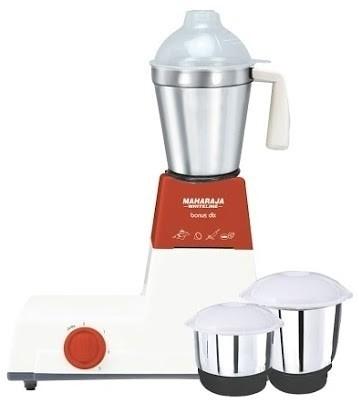 Buy Maharaja Whiteline MX-108 A Deluxe 500: Mixer Grinder Juicer