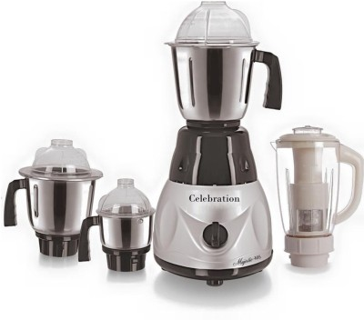 Celebration-Combo-Pack-of-4-Jars-with-1-Red-Blender-With-Attachment-free-CB-248-1000-W-Mixer-Grinder