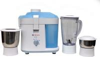 Bajaj JX 10 450 W Juicer Mixer Grinder (White, Blue, 3 Jars)