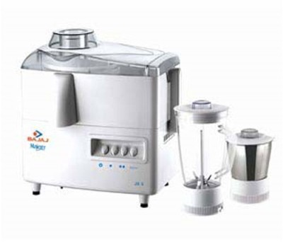 Buy Bajaj Majesty JX 4 2 Jars 450 Watts Juicer Mixer Grinder: Mixer Grinder Juicer