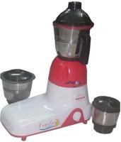 Jindal Popular 800 W Juicer Mixer Grinder (Pink, 3 Jars)