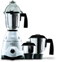 Morphy Richards Icon DLX 750 W Mixer Grinder (Silver, 3 Jars)