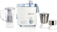 Philips HL 500 W Juicer Mixer Grinder (White & Blue, 3 Jars)