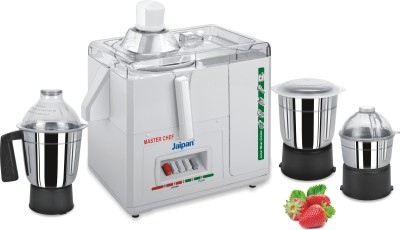 Buy Jaipan with 3 S.S. Jars 500 Juicer Mixer Grinder: Mixer Grinder Juicer