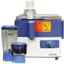 Maharaja Whiteline Jx-207 450 W Juicer Mixer Grinder - Blue, 2 Jars