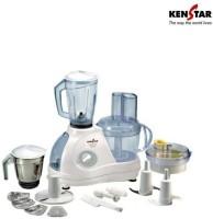 Kenstar Karishma Classic KFC60W2M 600 W Juicer Mixer Grinder (White, 2 Jars)