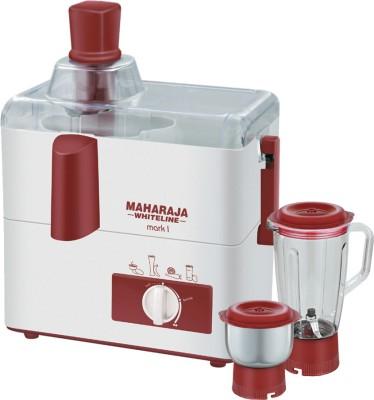 Maharaja Whiteline JX-100 450-Watt Juicer Mixer Grinder