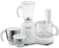 Morphy Richards Essentials 600 Food Processor 600 W Juicer Mixer Grinder (White, 4 Jars)