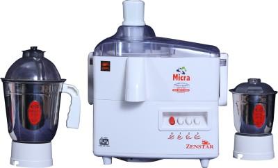 zenstar Micra 400W Juicer Mixer Grinder