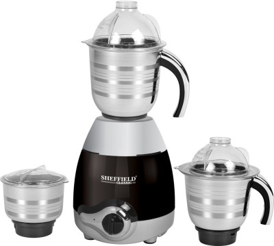 Sheffield Classic Black Queen SH-1024 750W Mixer Grinder