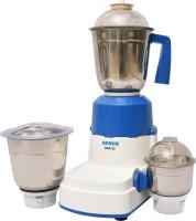 Genus GMX-02 750 W Mixer Grinder (White, Blue, 3 Jars)