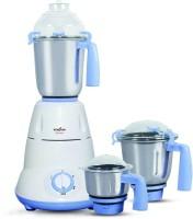 Kenstar Slender-7 750 W Mixer Grinder (White, Sky Blue, 3 Jars)