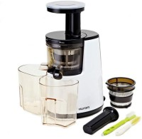 Hurom Slow Juicer Hh Elite 150 W Juicer (White, 2 Jars)