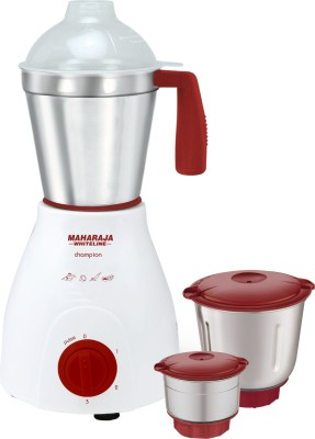 Maharaja Whiteline MX-121 500W Mixer Grinder (3 Jars)