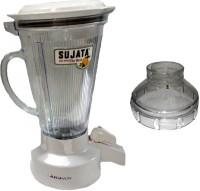 Sujata Megaflow Jar 810 W Juicer Mixer Grinder (White, 1 Jar)