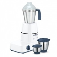 Maharaja Whiteline Uno 500 W Mixer Grinder (Blue And White, 3 Jars)