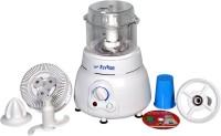 Flyride Plastic Vertical Dough Maker 350 W Juicer Mixer Grinder (White, 1 Jar)