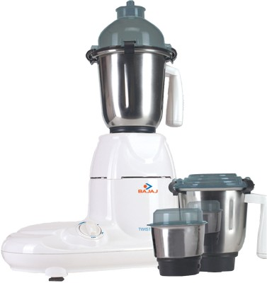Buy Bajaj Majesty Twister 3 Jars 750 Watts Mixer Grinder: Mixer Grinder Juicer