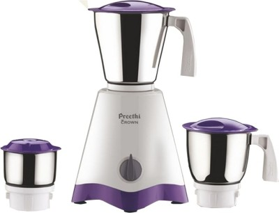 Preethi Crown 500 W Mixer Grinder (3 Jars)