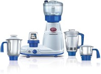 Prestige Delux Total Ls 750 W Mixer Grinder (White, Blue, 5 Jars)