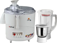 Activa Desire Plus 600 W Juicer Mixer Grinder (Opalwhite, 2 Jars)