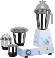 Worldstar Domestic Plus 750 W 4 Jars 750 W Mixer Grinder (White, 4 Jars)