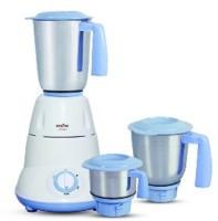 Kenstar Slender-6 600 W Mixer Grinder (White, Blue, 3 Jars)