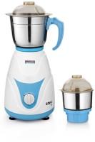 Padmini Royal 400 W Mixer Grinder (White & Blue, 2 Jars)