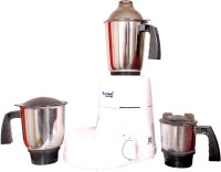 Sumeet Domestic LNX 550 550 W Juicer Mixer Grinder (White, 3 Jars)