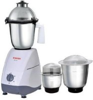 Singer MG-49 550 W Juicer Mixer Grinder (White, 3 Jars)