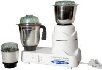 Silverline Kitchen Master 750 W Mixer Grinder (White, 3 Jars)