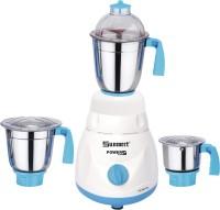 Sunmeet PowerPlusMrf08 750 W Mixer Grinder (White, Blue, 3 Jars)