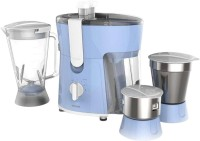 Philips HL7576 600 W Juicer Mixer Grinder (Celestial Blue & Bright White, 3 Jars)